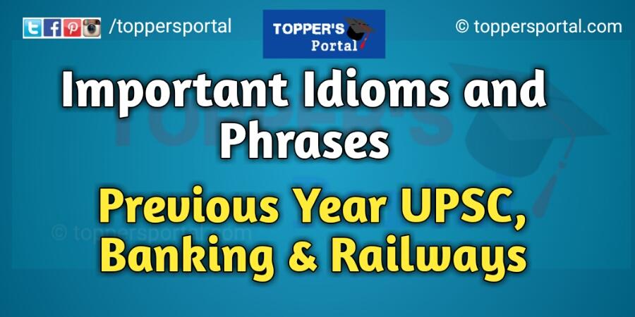 Popular English Idioms