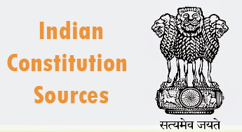 indian constitution sources