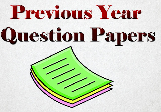 Previous Year Papers