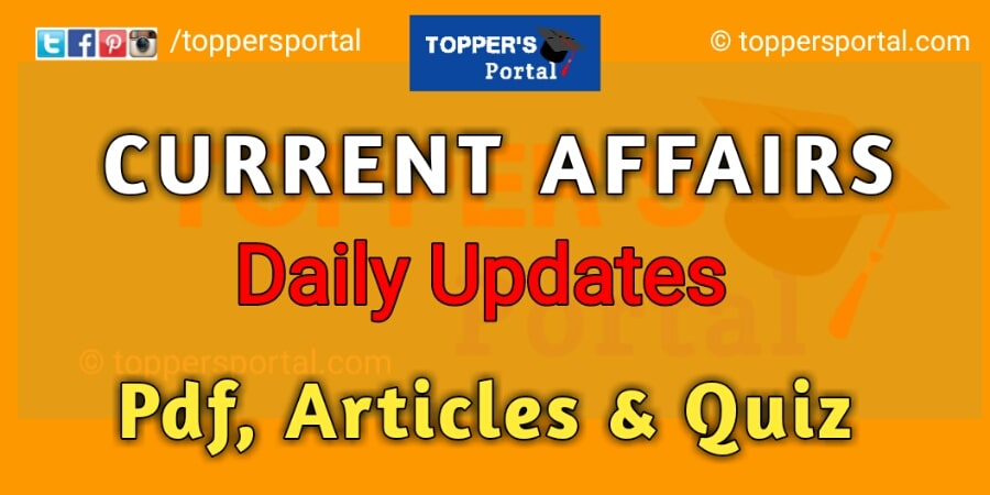 21 September Current Affairs 2020