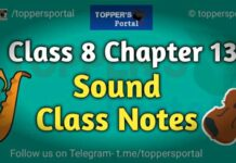 Class 8 Sound Notes