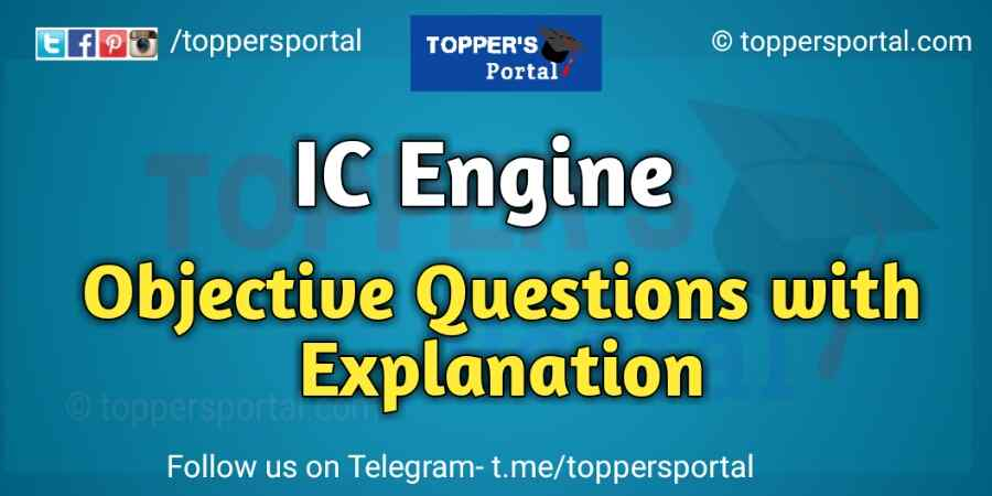 IC engine Objective Questions